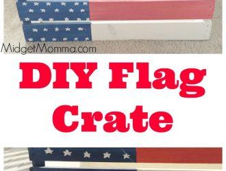 DIY Flag Crate