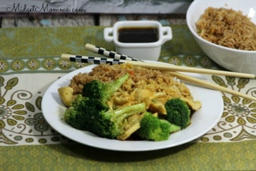 Homemade Chinese Food Chicken and Broccoli recipe