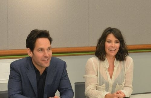Interview with Paul Rudd & Evangeline Lilly
