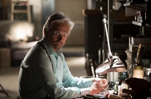 Michael Douglas Interview ANT-MAN Movie Hank Pym
