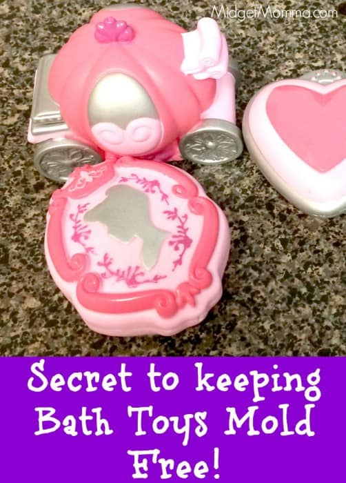 Prevent Bath toy mold