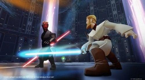 Star Wars Twilight of the Republic Play Set for Disney 3.0 light saber