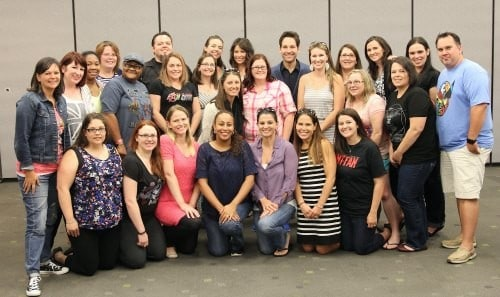 bloggers interview Paul Rudd and Evangeline Lilly
