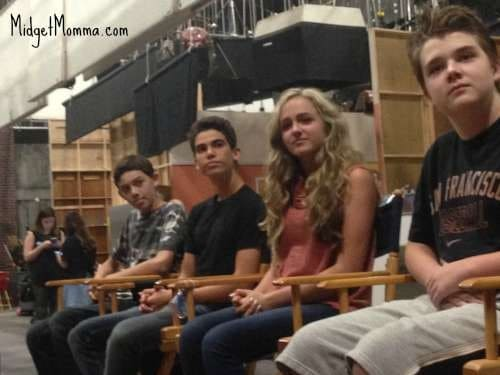 interview with cast of gamer's guide disney channel show