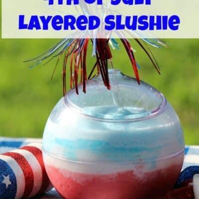 Fresh Fruit Layered Slushie Drink, Layered Slushie Drink made with Fresh Fruit, Fresh Fruit Slushie Drink, Fresh Fruit Layered Slushie, Fresh Fruit Slushie