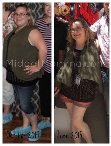 midgetmomma weightloss