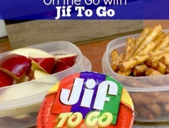 Jif To Go cups Make snacking on the Go Easy, Tasty & Healthy! + Giveaway