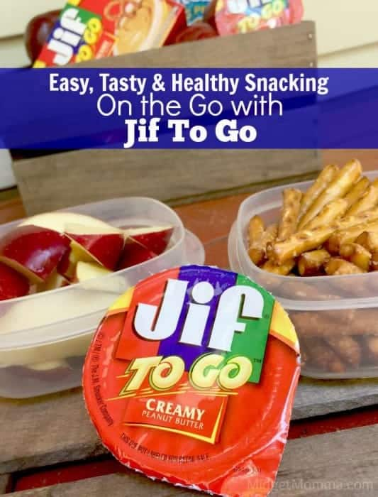 on the go snacking with jif to go