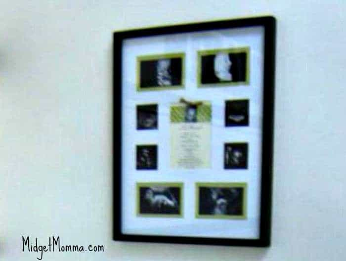 sonogram nursey decor