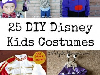 25 DIY Kids Disney Costumes