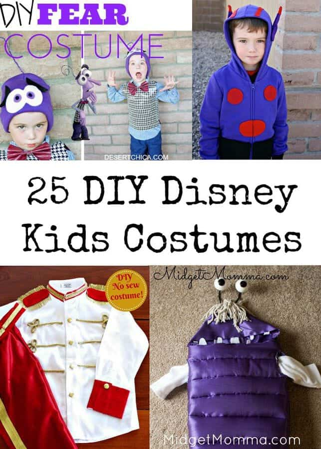 DIY Kids Disney Costumes