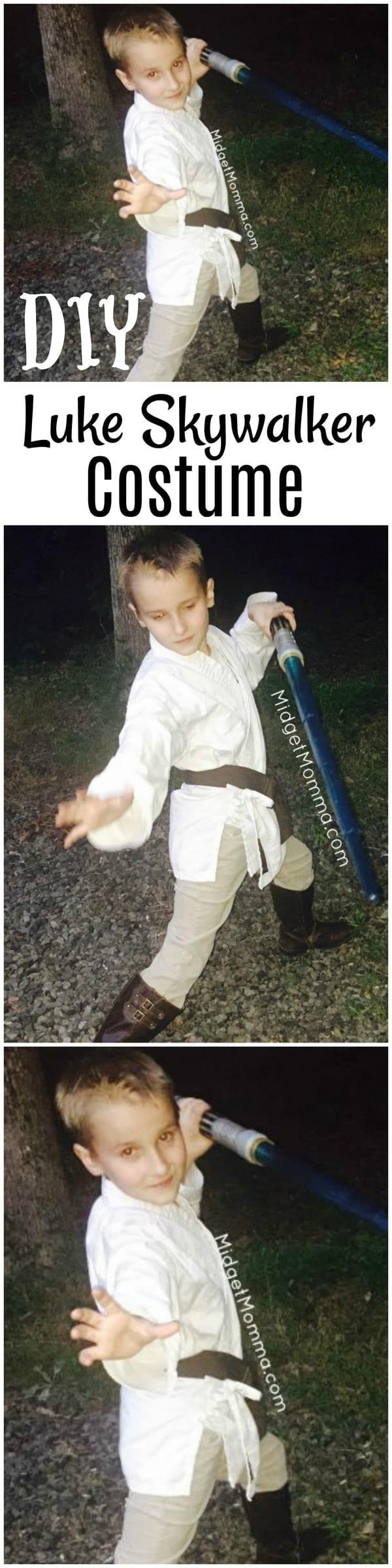 Diy Luke Skywalker Costume Star Wars Costume