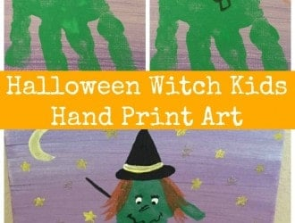 halloween hand and fooprint craft, halloween craft, kids halloween craft, halloween handprint, halloween footprint, foot print craft, kids foot prints, kids handprints craft