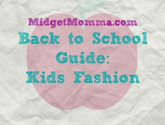 Back to School Guide 2015: Kids Fashion