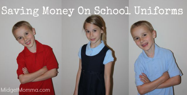 Saving Money on School Uniforms