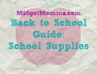Back to School Guide 2015: School Supplies