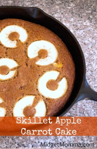Skillet Apple Carrot Cake Easy Fall Dessert