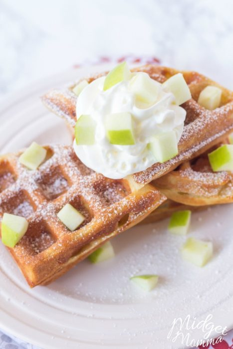 apple waffle recipe