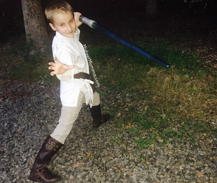 DIY Luke Skywalker costume
