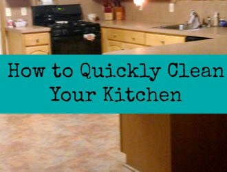 Tips & Tricks to Clean the Kitchen Quickly