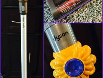Meet the newest Member of our House Cleaning Army!  The Dyson V6 Slim Vacuum