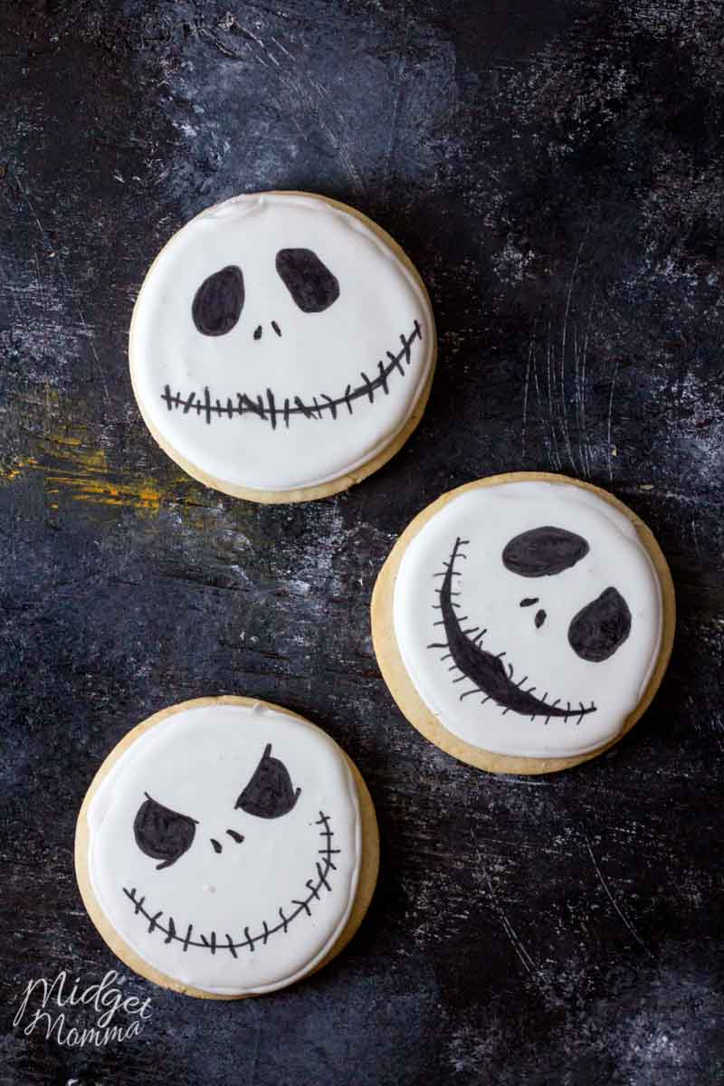 Jack Skellington cookie