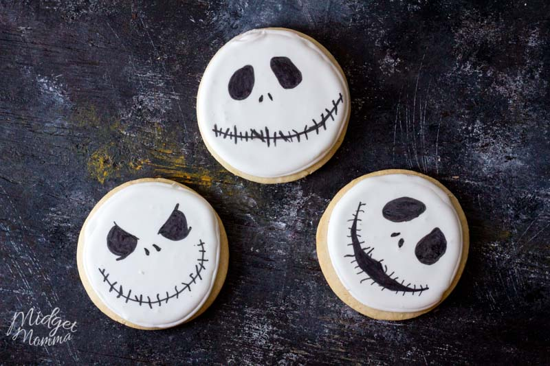 Jack Skellington Homemade cookies