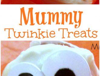 Twinkie Mummies (Halloween Treat)