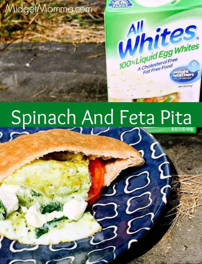 Spinach And Feta Pita