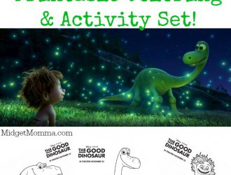 THE GOOD DINOSAUR Movie Printable Coloring & Activity Sheets