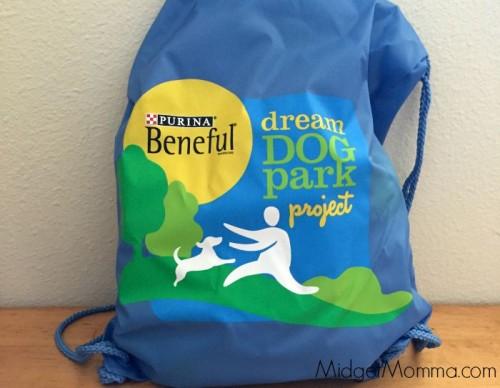 beneful dog swag bag