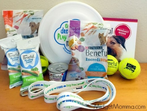 beneful dog week bag