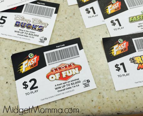 Win fast with Fast Play In the New Jersey Lottery • MidgetMomma