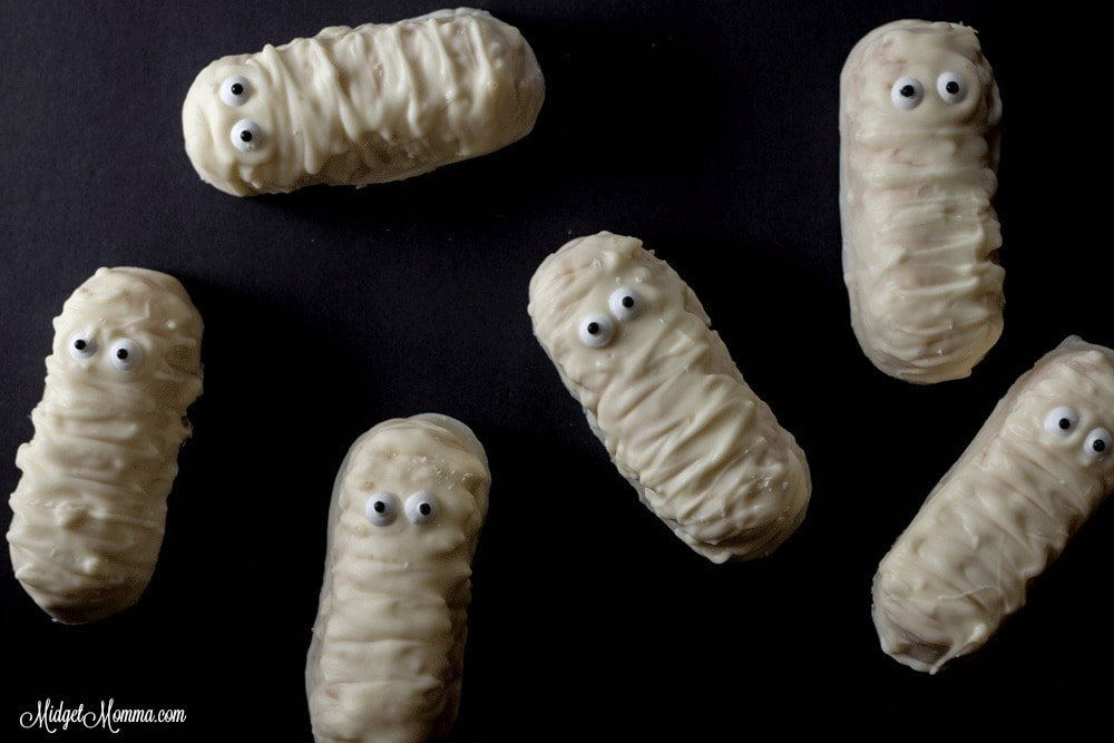 Twinkie Mummies Halloween treat