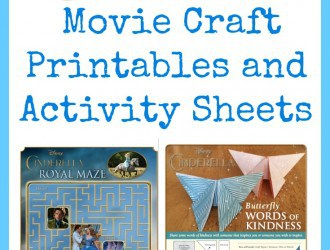 Cinderella Movie Craft and Activity Printable Sets
