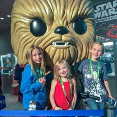 Going to ComicCon with Kids
