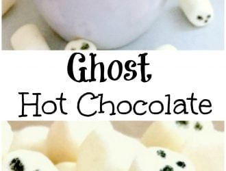 Spooky Ghost Halloween Hot Chocolate