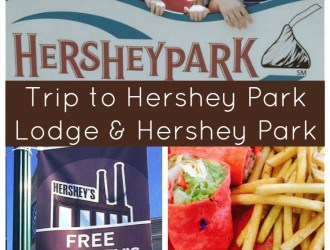Trip to Hershey Park Lodge and Hershey Park in Hershey Pennsylvania