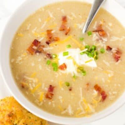 Potato Cauliflower Soup