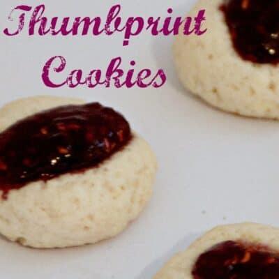 Raspberry Thumbprint Cookies. A perfect christmas cookie is this Raspberry Thumbprint Cookies. These Raspberry Thumbprint Cookies are so easy!