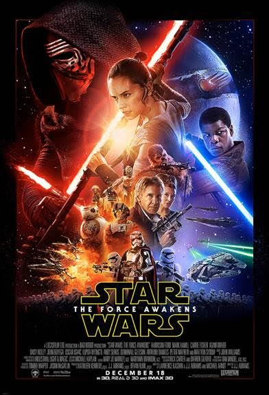 Star Wars The Force Awakens Movie Tickets