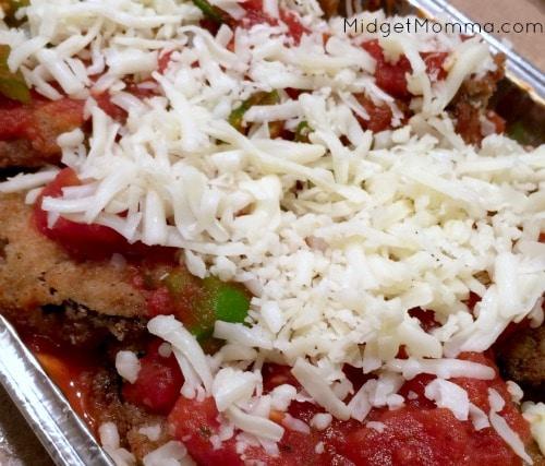 Eggplant Parmesan Freezer Meal