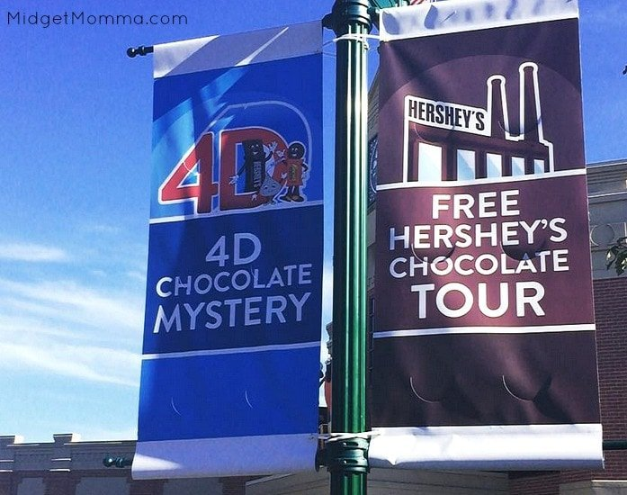 hershey park factory tour