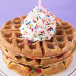 how to make waffle batter