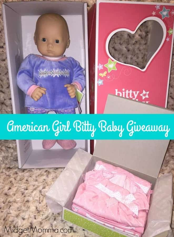 American Girl Bitty Baby Giveaway