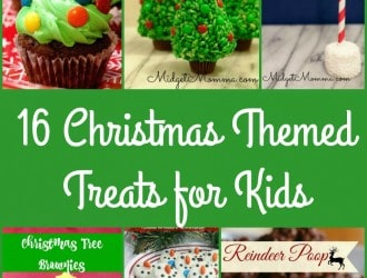 16 Christmas Themed Treats for Kids