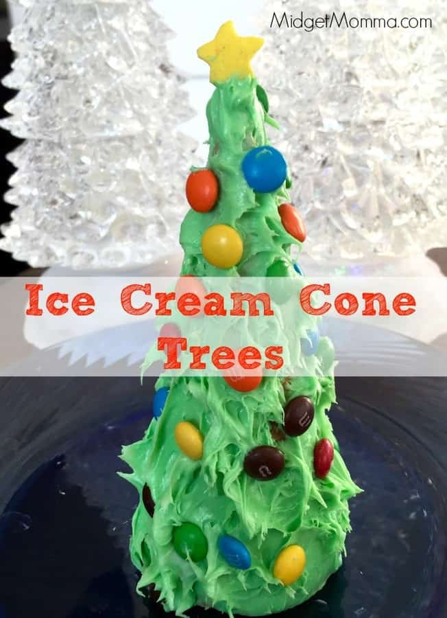 This Ice Cream Cone Trees crafty is one that kids will love and they can eat it when they are done making their Ice Cream Cone Trees.