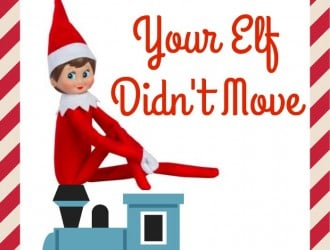 Reasons elf on the shelf did not move