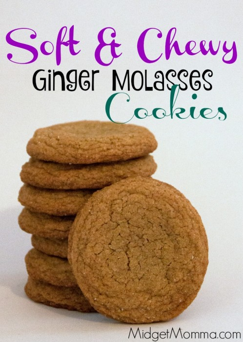 These Chewy Ginger Molasses Cookies are my favorite cookie, not just favorite holiday cookie but all time favorite cookie.