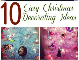 10 Easy Christmas Decorating Ideas